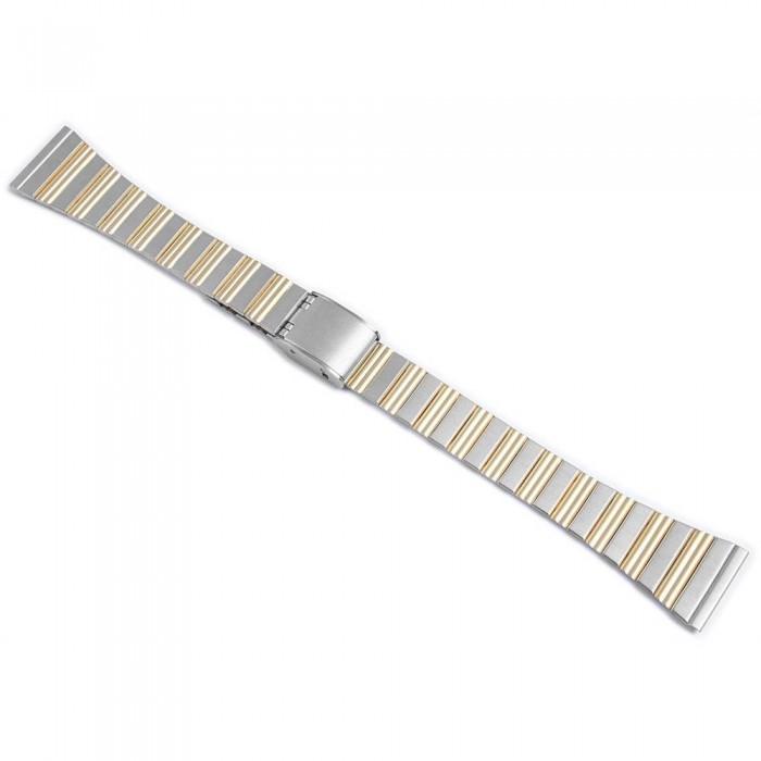 Bratara ceas, otel inoxidabil, bicolor, 16 mm, 823010000716