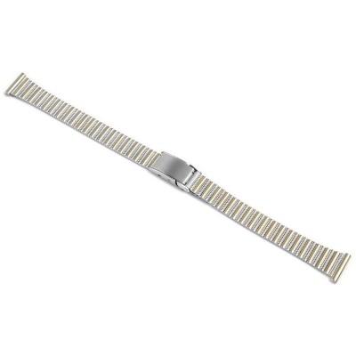 Bratara ceas, otel inoxidabil, bicolora, 12 mm, 823010001012