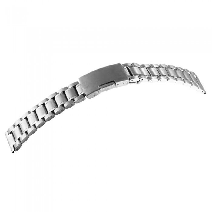 Bratara ceas, otel inoxidabil, argintiu, 20 mm, 170-200