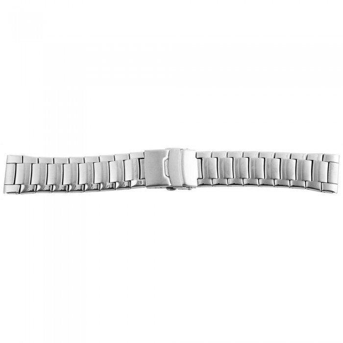 Bratara ceas, otel inoxidabil, argintiu, 20 mm, 165-200
