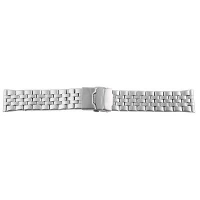 Bratara ceas, otel inoxidabil, argintiu, 24 mm, 166-240