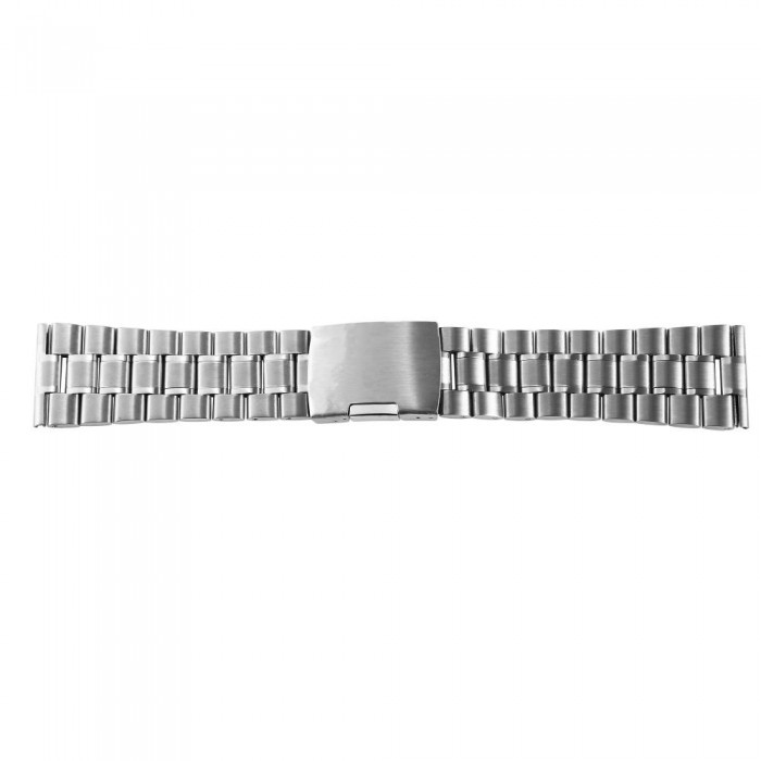 Bratara ceas, otel inoxidabil, argintiu, 24 mm, 170-240