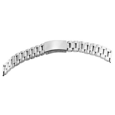 Bratara ceas, otel inoxidabil, argintiu, 22 mm, 174-220