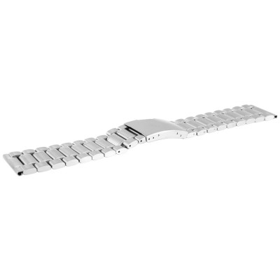 Bratara ceas, otel inoxidabil, argintiu, 24 mm, 174-240