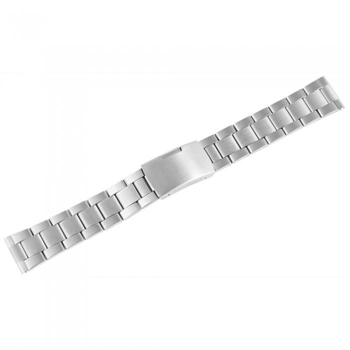 Bratara ceas, otel inoxidabil, argintiu, 20 mm, 189-200