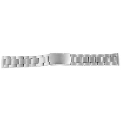 Bratara ceas, otel inoxidabil, argintiu, 22 mm, 189-220