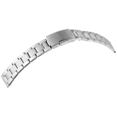Bratara ceas, otel inoxidabil, argintiu, 24 mm, 189-240