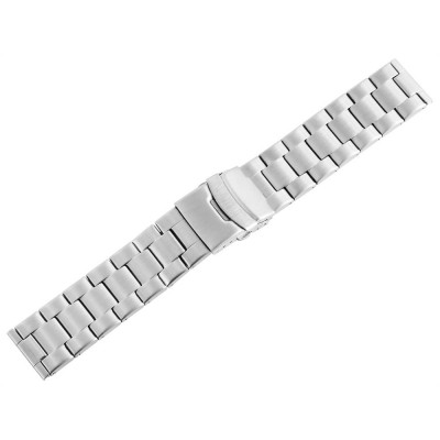 Bratara ceas, otel inoxidabil, argintiu, 22 mm, 191-220