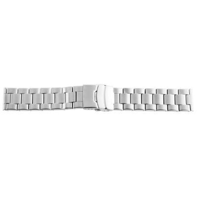 Bratara ceas, otel inoxidabil, argintiu, 24 mm, 191-240